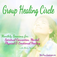Group healing sessions for spiritual connection, mental, physical & emotional healing
